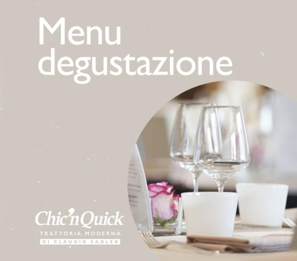 Chic'n Quick menu degustazione